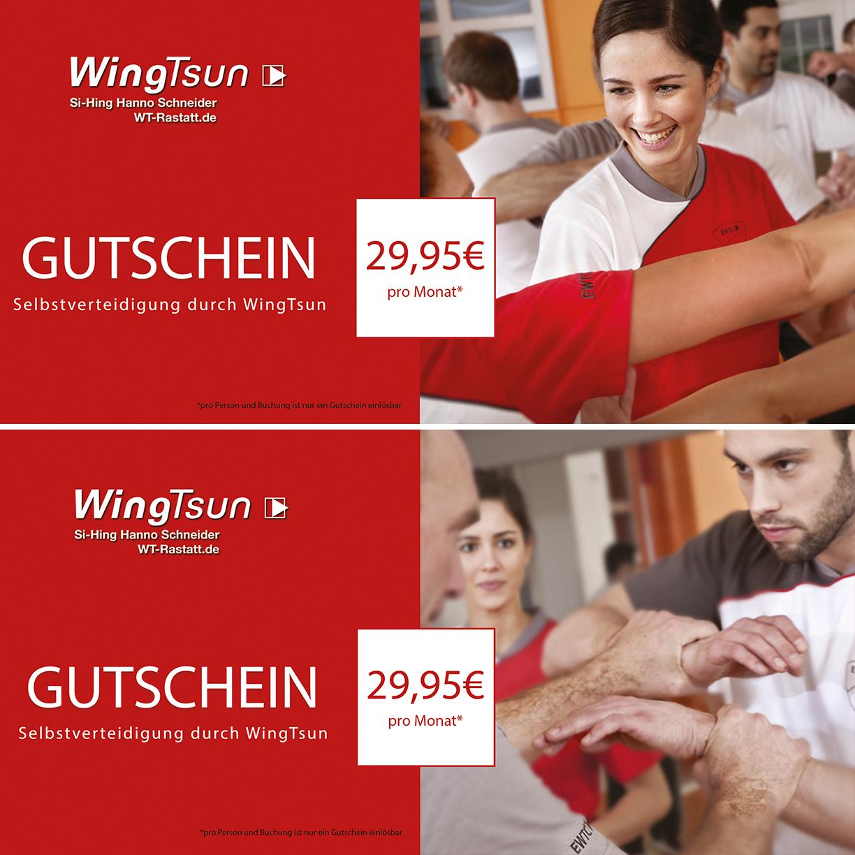 Gutscheine WingTsun Selbstverteidigung Rastatt